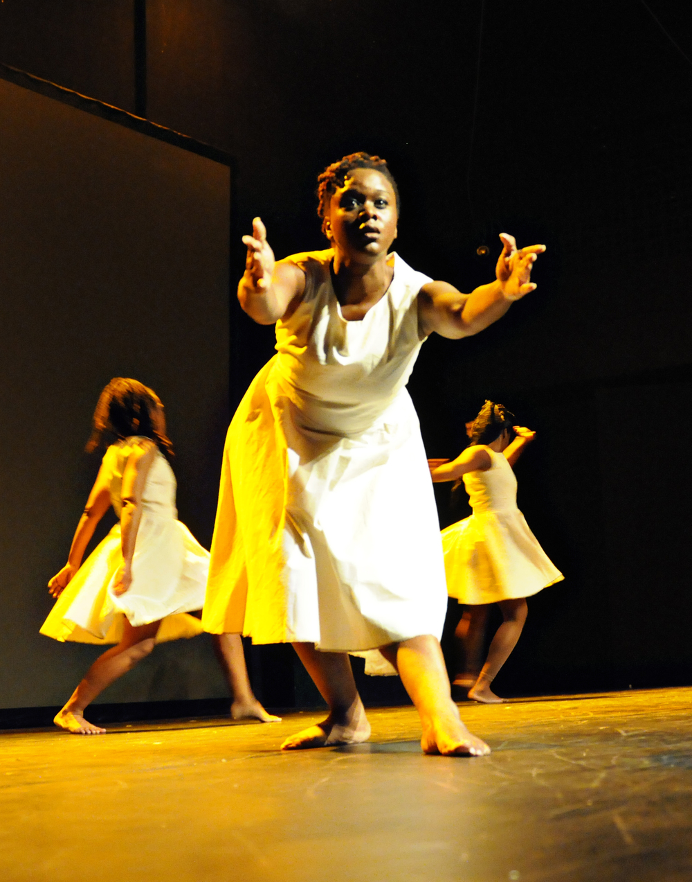 TroubleFree (2012)Dancers: Anika Marcelle, Jillene Forde, Tracey Lucas, Jonatha Sutherland and Zhané George Dance Show: COCO Dance Festival 2012 Photography: Karen Johnstone  Location: Little Carib Theatre, Port-of-Spain - Trinidad