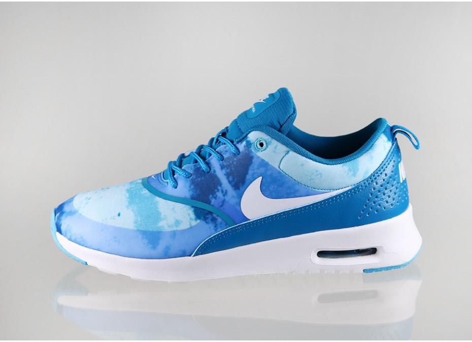 Air Max Thea Blue And White