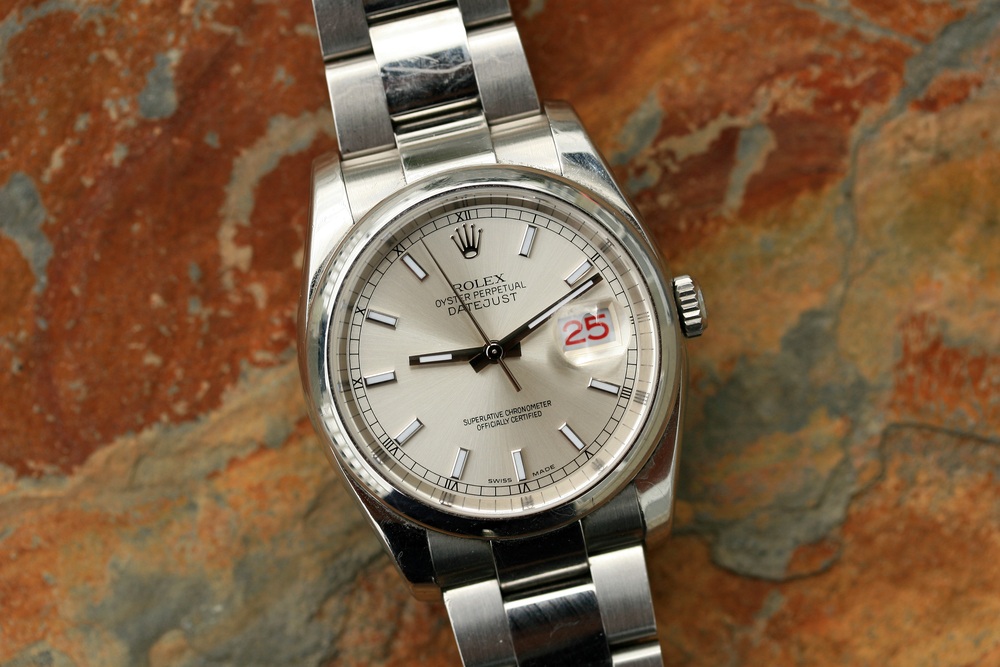 Rolex Datejust 36mm Silver Dial