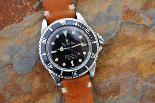 Sold 1965 Rolex Submariner 5512 Stardust Giltglossy 4 Line Dial