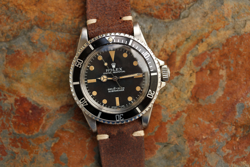 Rolex Submariner No Date Leather