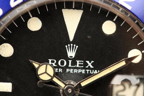 1968 Rolex GMT-Master 1675 MK1 Long E Dial on Jubilee — LunarOyster