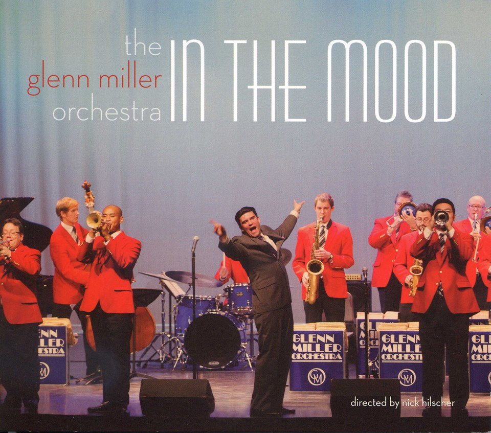 Latest Glenn Miller Orchestra Album Cover
