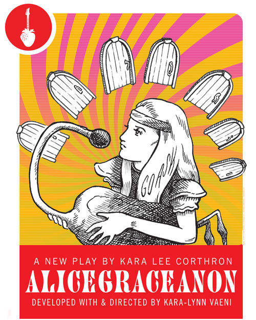 October 25, 2012.      Theatre I've Seen: AliceGraceAnon by Kara Lee Corthron, Presented by New Georges      At Irondale Theater.      ________________________________________________