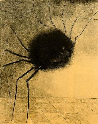 380px-Redon_smiling-spider.jpg