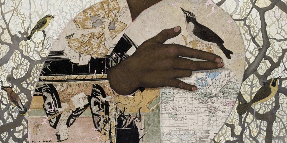 Untitled (Birds) detail
