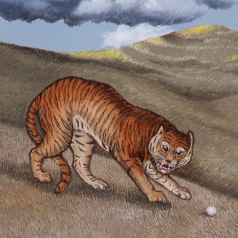 Fungo Tiger (detail)