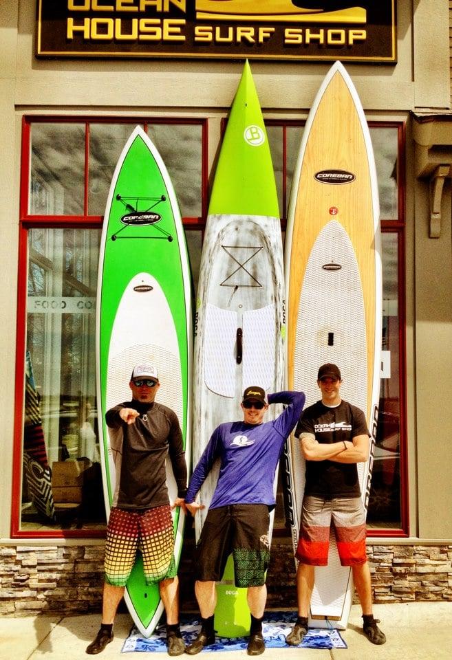 Coreban paddleboards BOGA