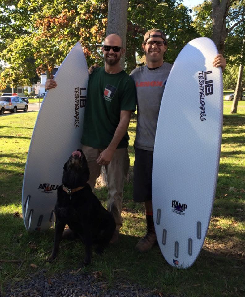 Lib tech shortboards surfboards