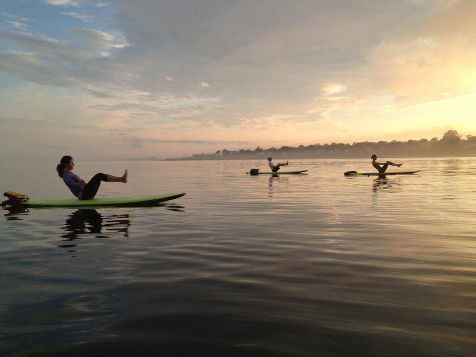 SUP Yoga Kings beach