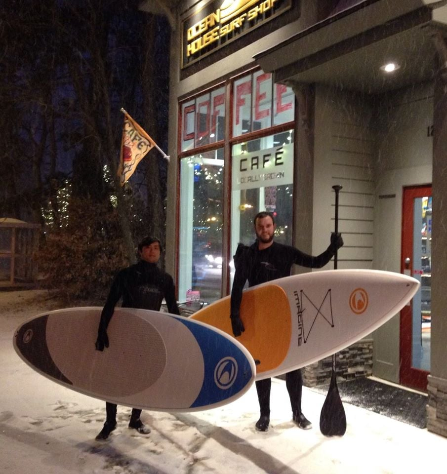 Paddleboard Imagine surf winter