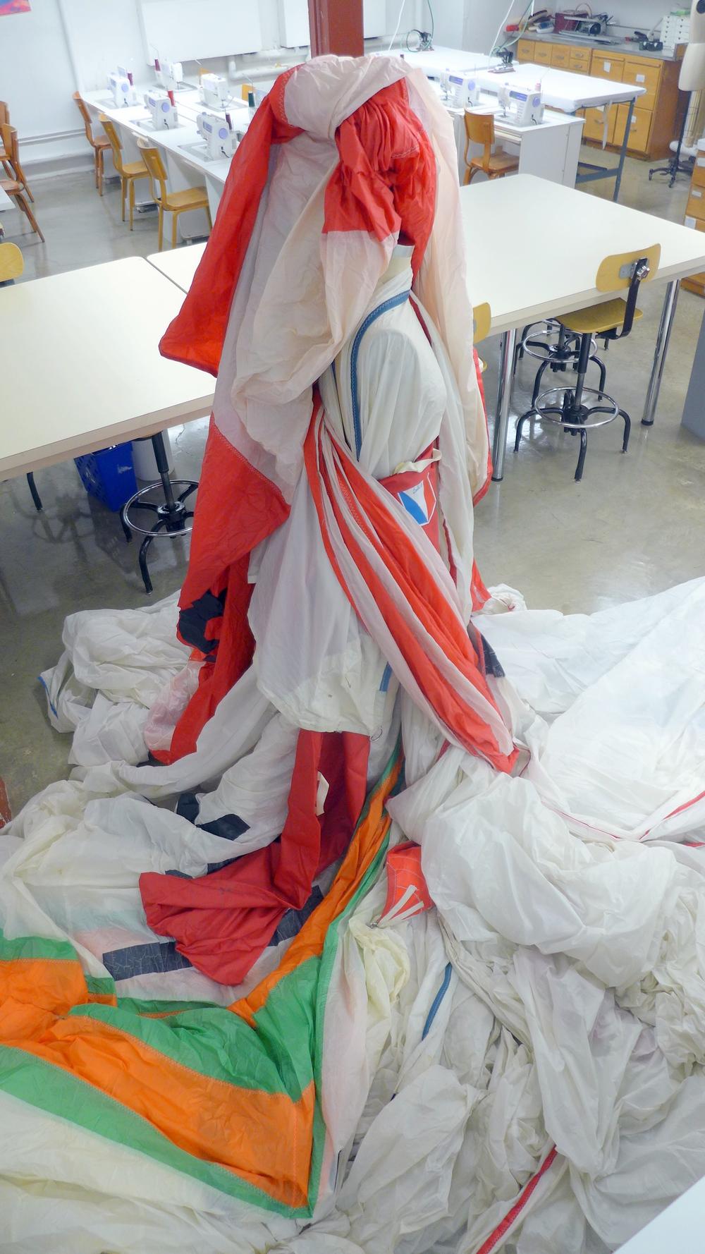 sail draping