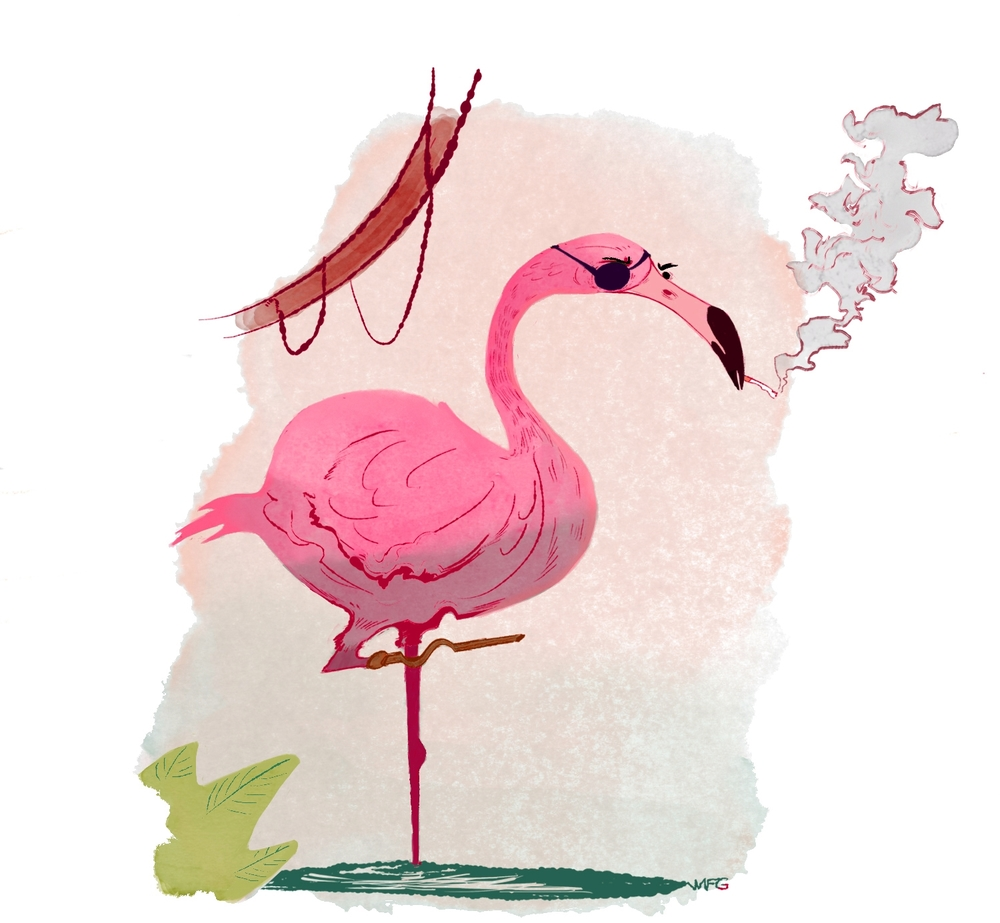 Birds of Depression: Flawed Flamingo