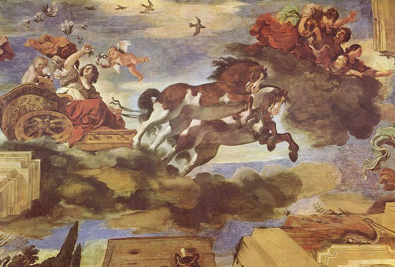 Guercino's Aurora (Giovanni Francesco Barbieri)  1621
