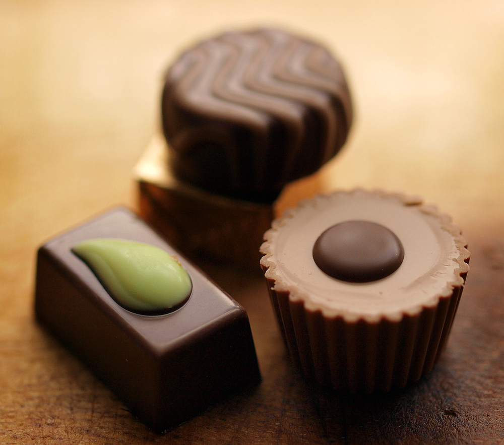 Photo Credit: Swiss Chocolate (bon bons) by Eric Hossinger, License