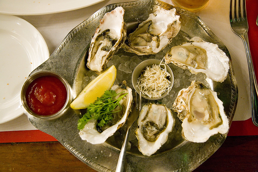 Photo Credit: Oyster Combination Plate by  pointnshoot ,  License