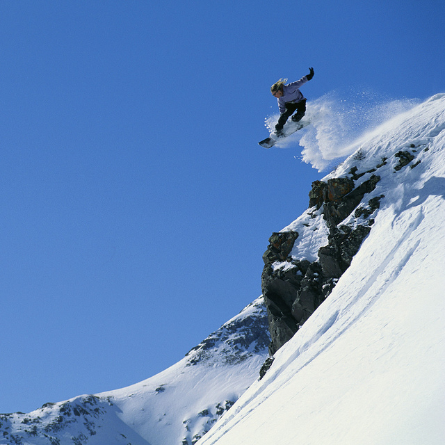 Photo Credit: Snowboarder Performing Jump Silverton, Colorado, USA by Spirit-Fire, License