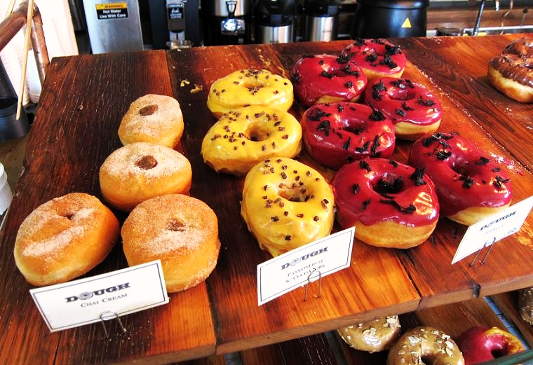 Assortment of DOUGH doughnuts courtesy of Village Voice
