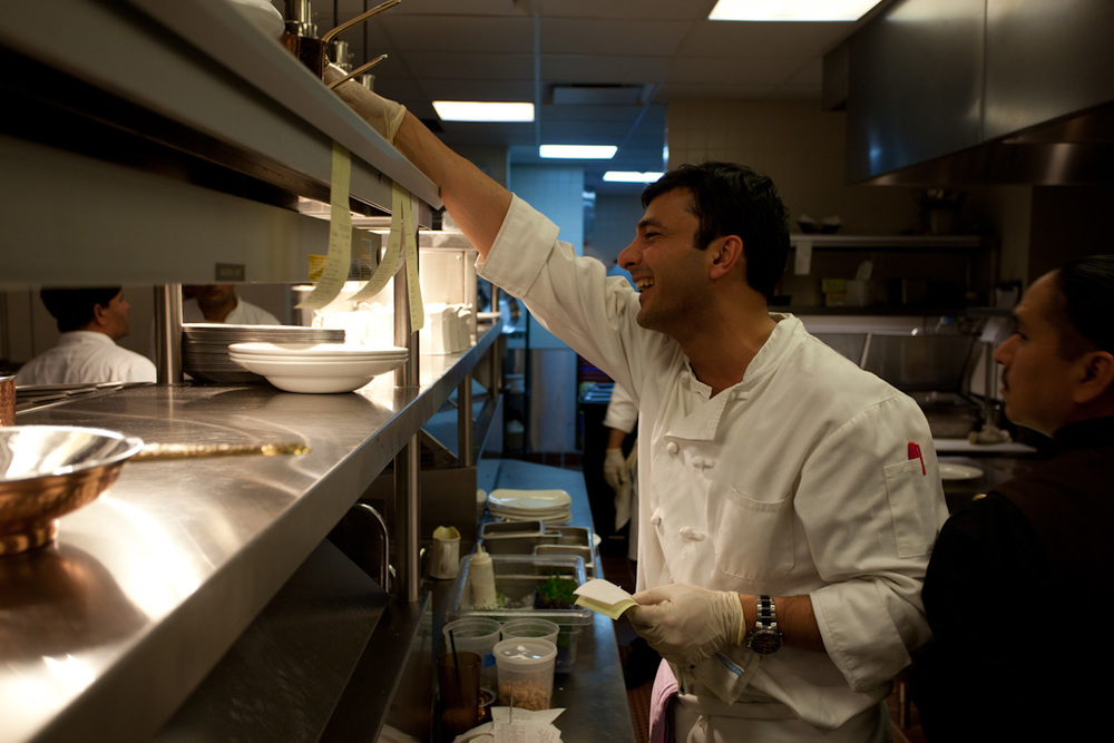 Executive chef: Vikas Khanna