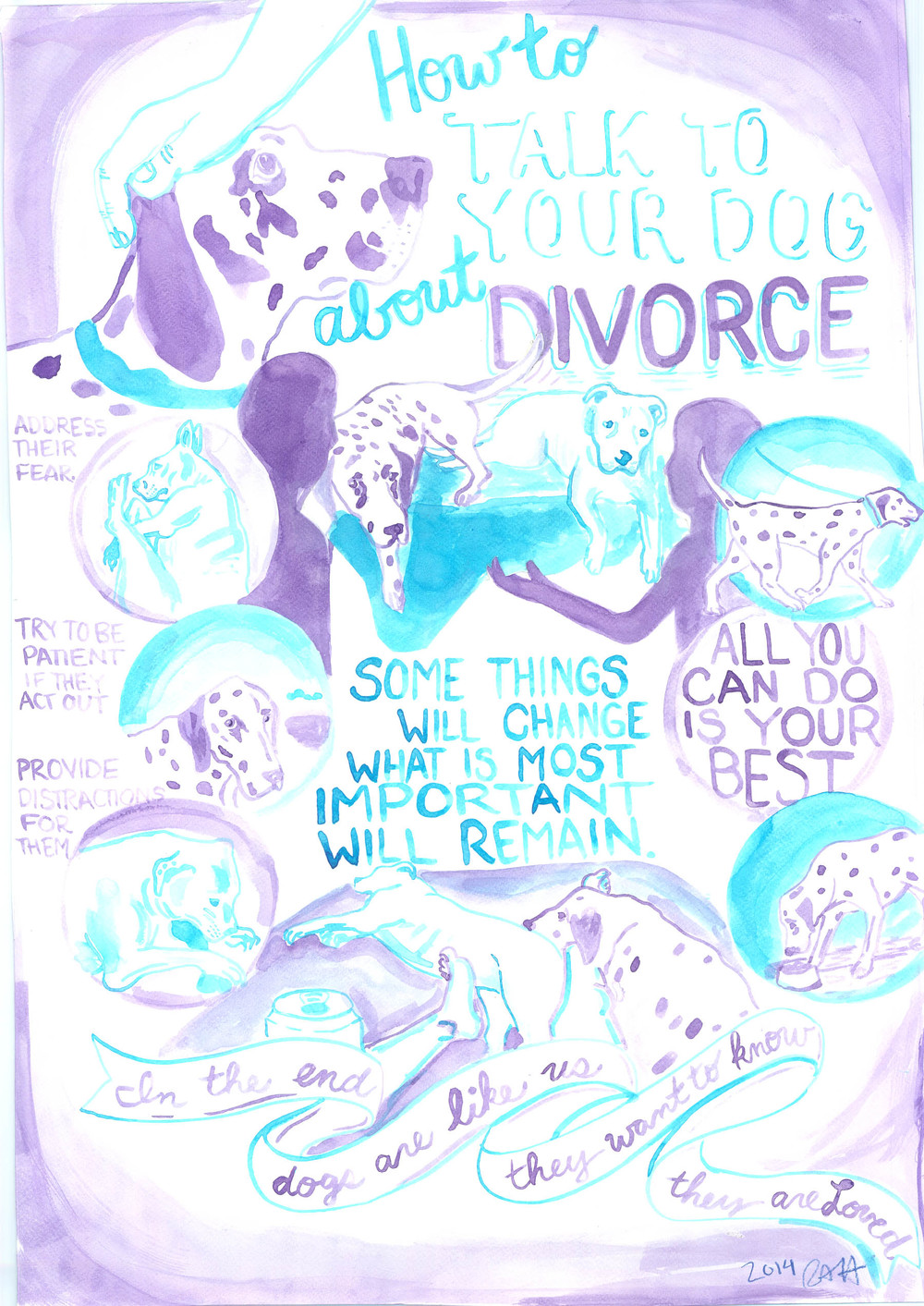 How to Talk to Your Dog About Divorce