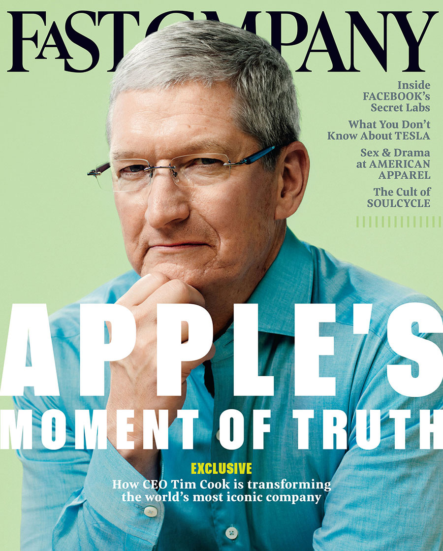 Fast Company - Tim Cook — Chris Aysta