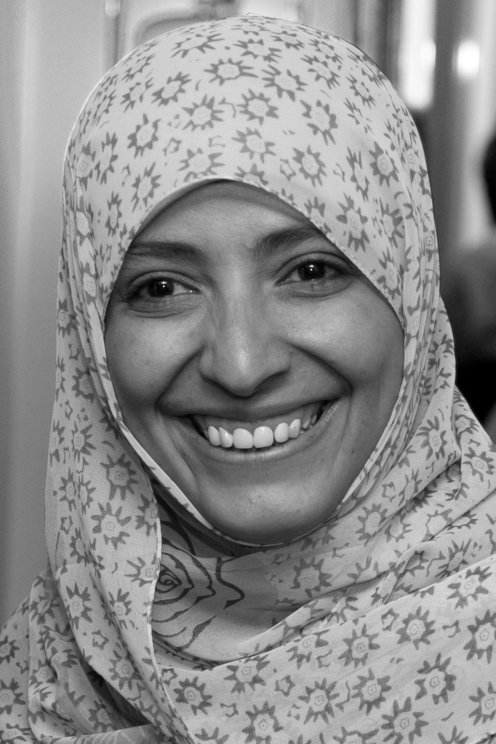Mrs. Tawakkol Karman: Winner of Nobel Peace Price 2011- Journalist -