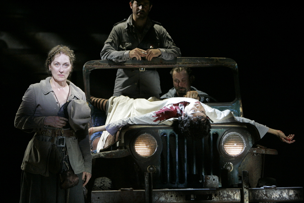 Mother Courage and her Children  ,  Public Theater , NYC, 2005. Photo  ©  Michal Daniel