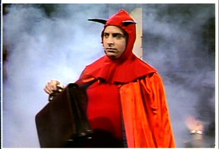 Satan was a huge nerd in the 80s.