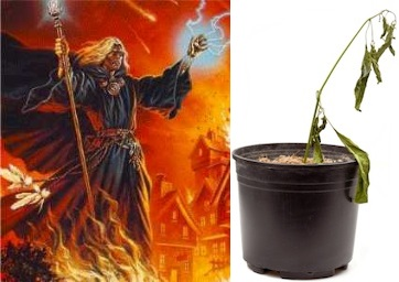 """I will destroy you with the power of shitty gardening!"""