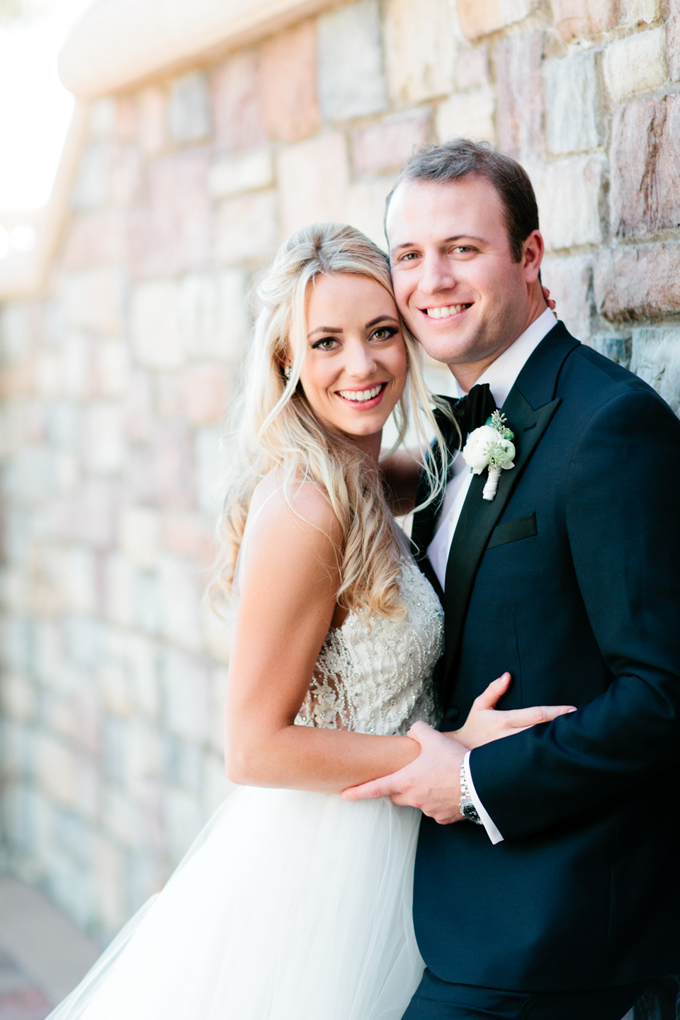 Image of a bride and groom on their wedding day at TPC Sawgrass in Ponte Vedra, Florida