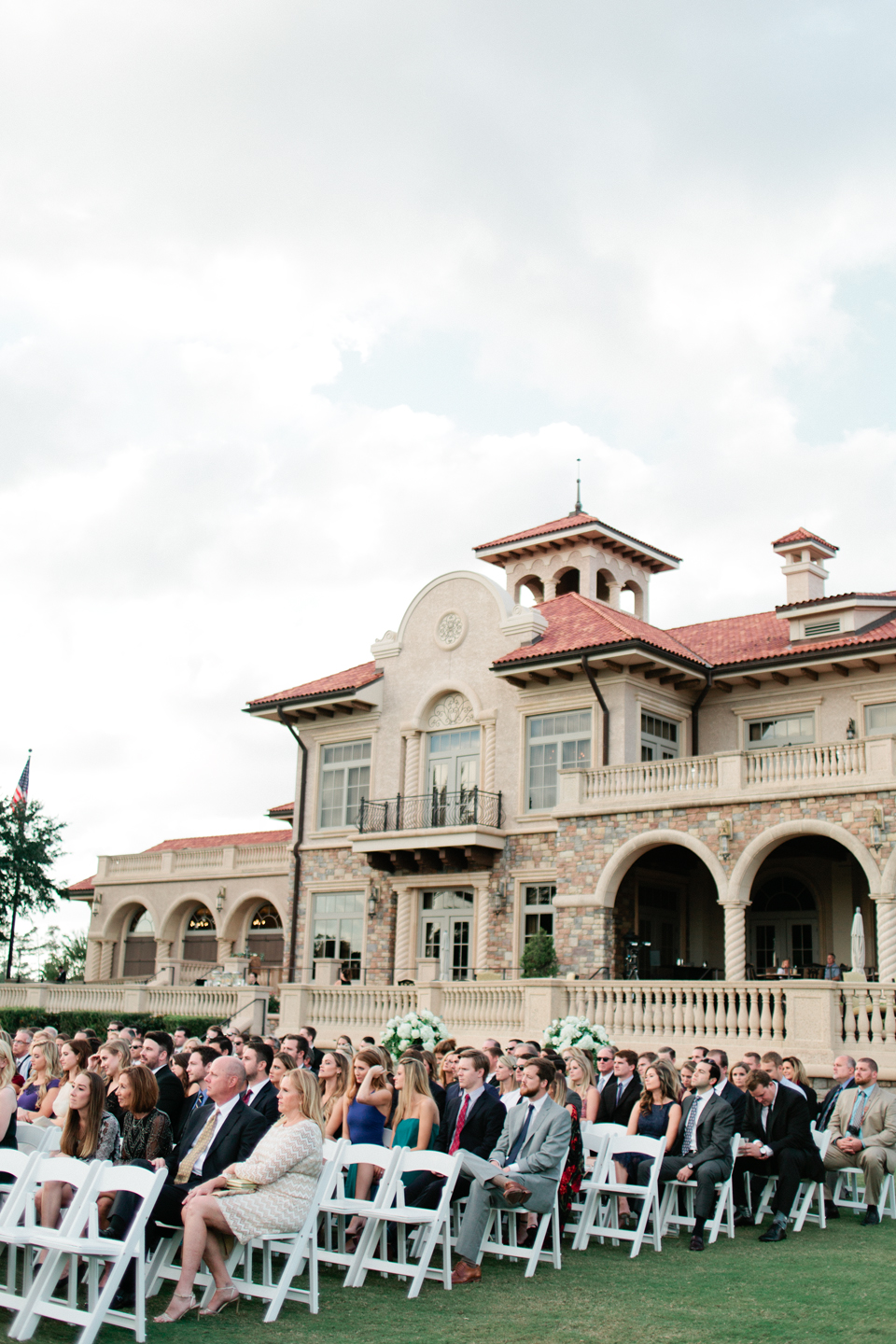 Image of a wedding ceremony held at Ponte Vedra TPC Sawgrass in Florida