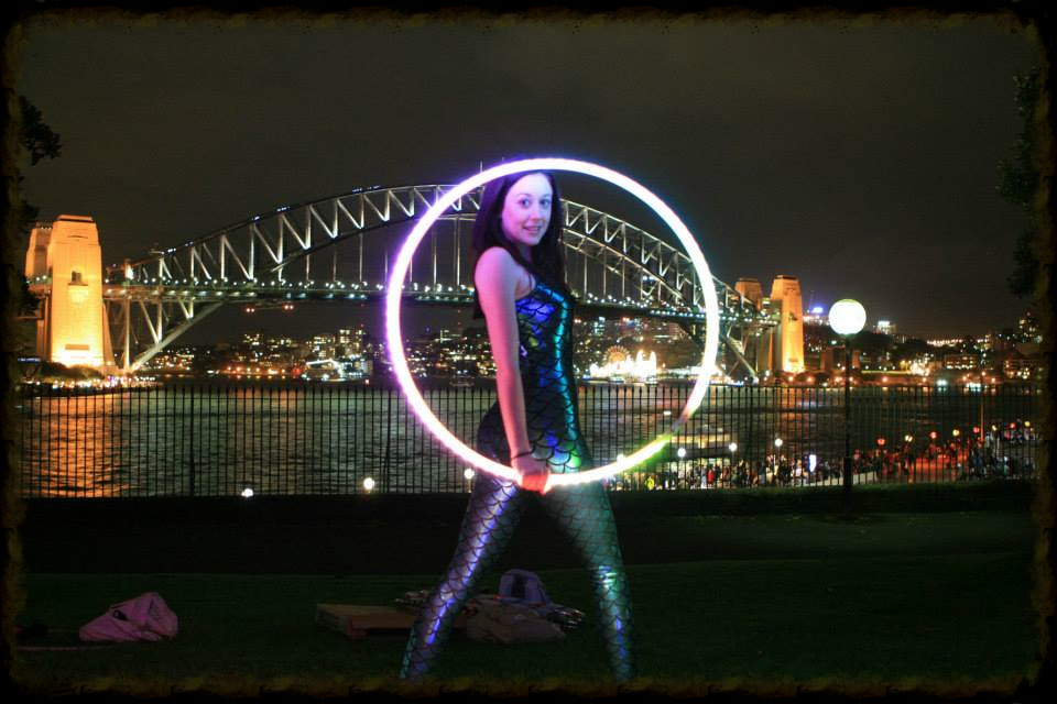 Sydney Harbour Bridge LEd Hooping