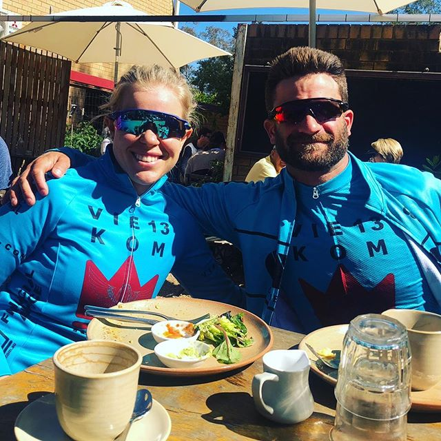 Christmas is for catch-ups!!! And when your team has athletes in every state, there's always someone to pedal with 👍  Here's hoping our sponsors are all getting a chance to get out for a pedal this Christmas.  @kom_financial_advice @incomeprotectionforcyclists @twobeforeten @illesostudio @mbtoorak @theoddspoke