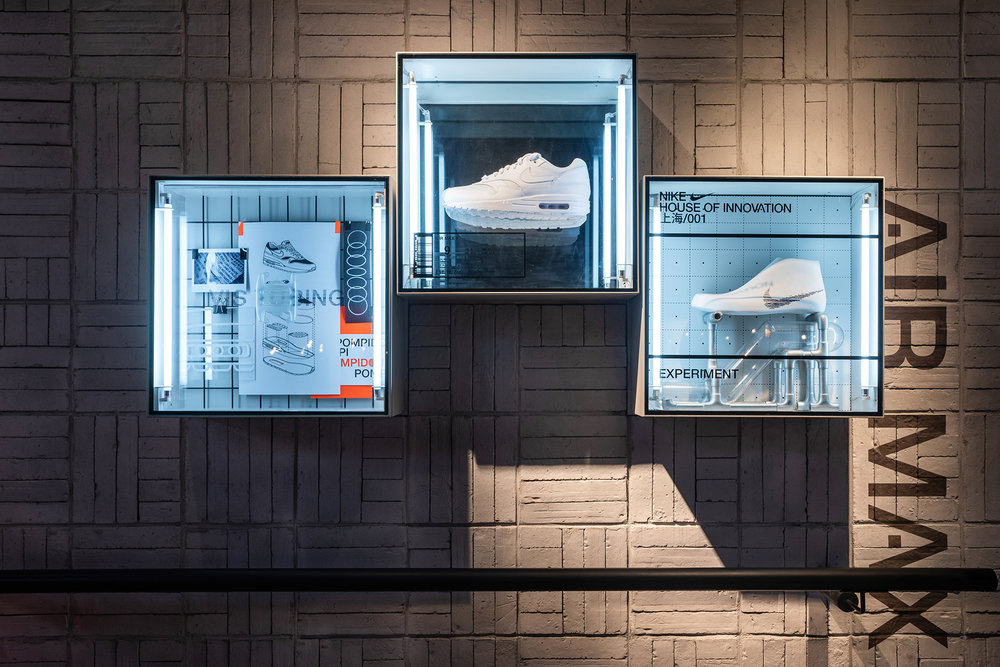 NIKE Evolution of Air Installation