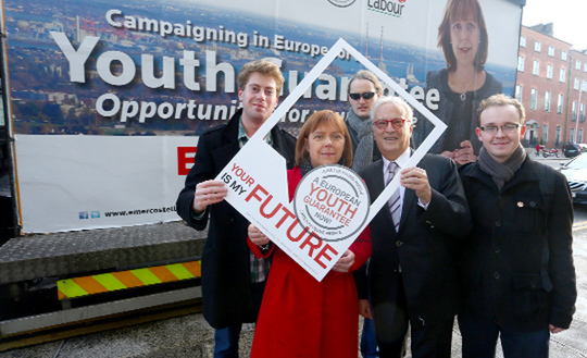 I am proud to support Emer Costello MEP.  Emer has done great work on the European Youth Guarantee.