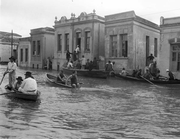 Flooded São Paulo