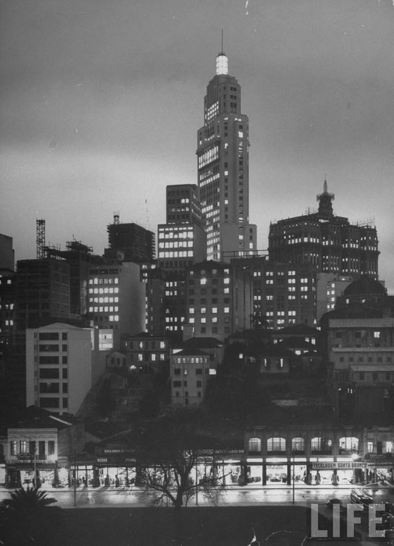 São Paulo's skyline - a metropolis built off coffee (Dmitri Kessel)