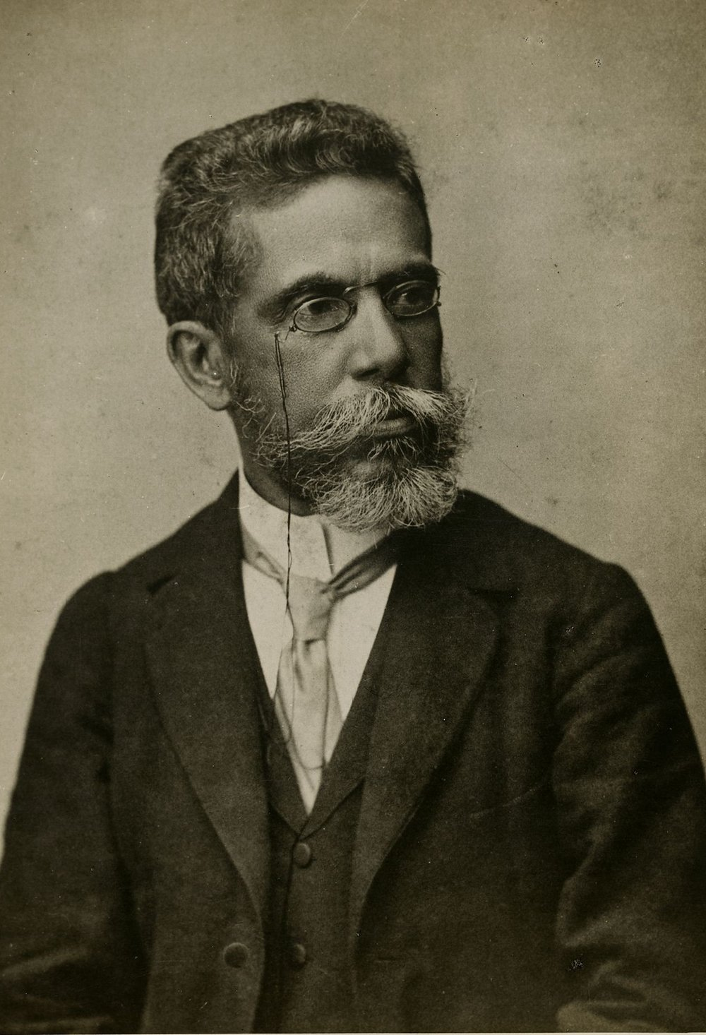 Machado de Assis - founder of the Academia Brasileira de Letras