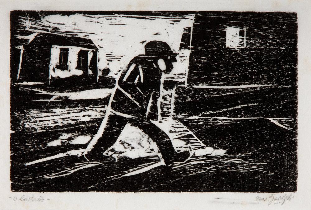 'O Ladrão' | Oswaldo Goeldi