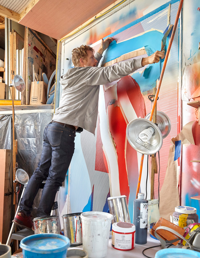 Graffiti artist Jason Woodside