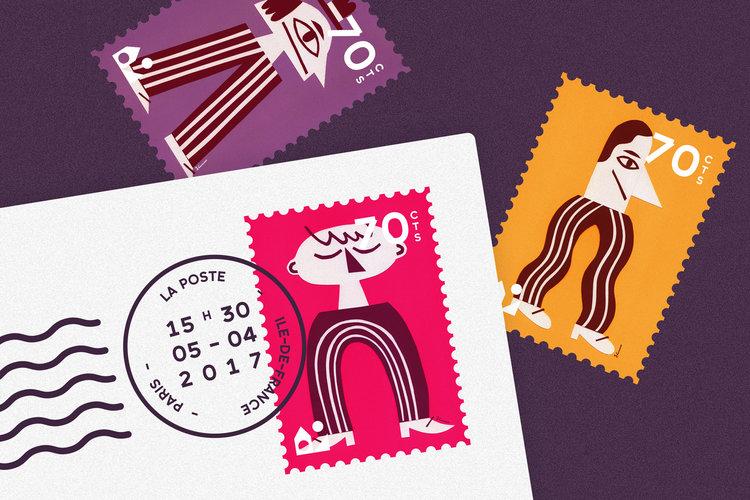 Maison Tangible : Jérémie Claeys stamps