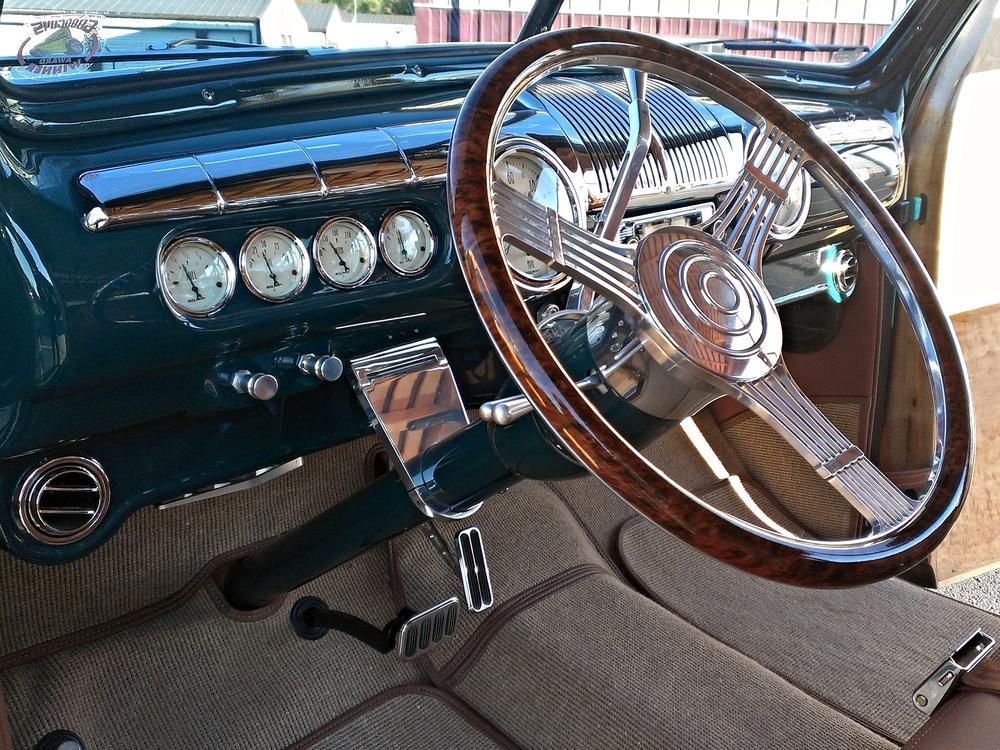 1942 Woody Wagon Interior