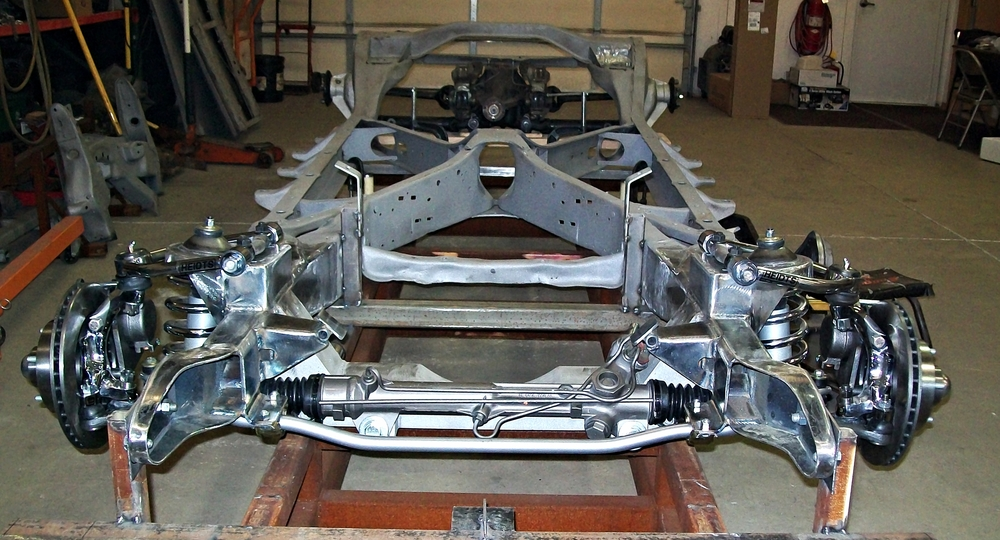 New Mustang II Front Suspension