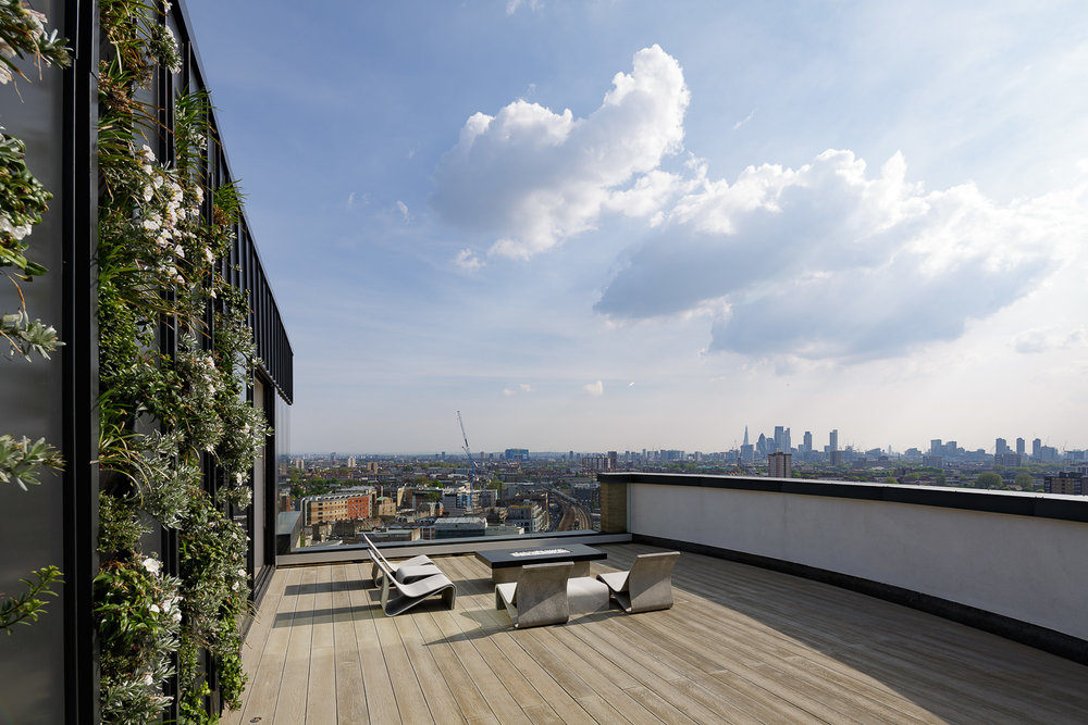 A penthouse apartment above London Fields - the ultimate party flat?  www.turnerarchitects.co.uk/work#/beacon