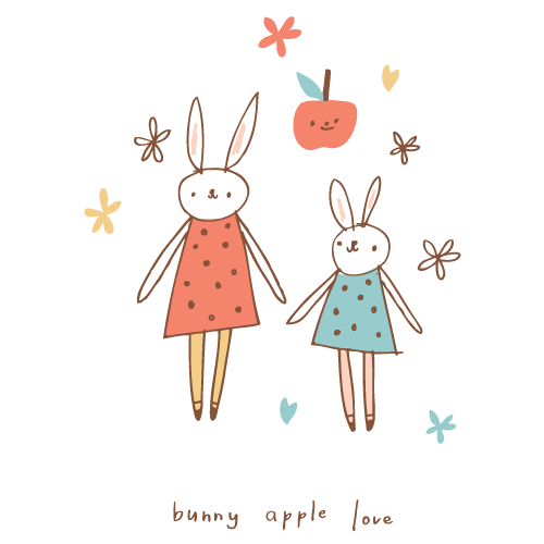 bunnyapplelove