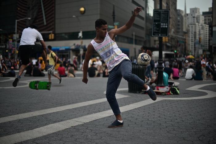 Street Soccer   Union Square — DAPPER LOU