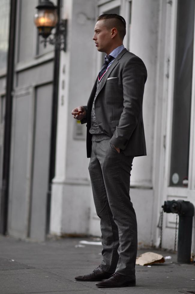 Street style men new york