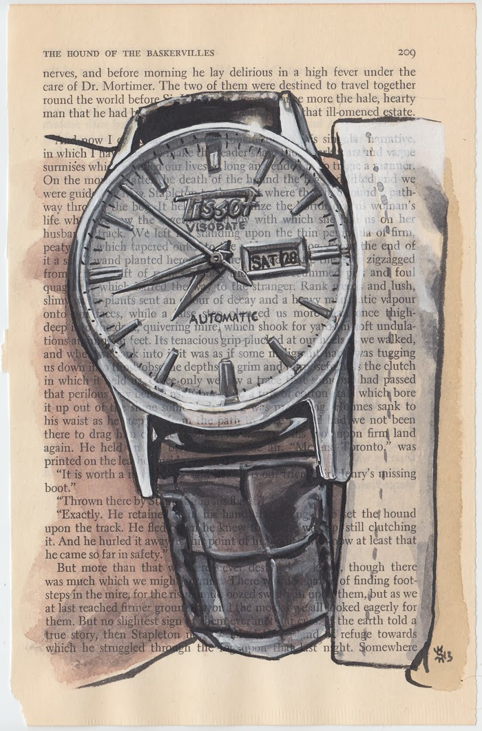 Dapper-Lou-Interview-Ave-Menswear-Illustrator-Matthew-Miller-Sunflower-Man-100 Watches Project- Tissot Visodate.jpg