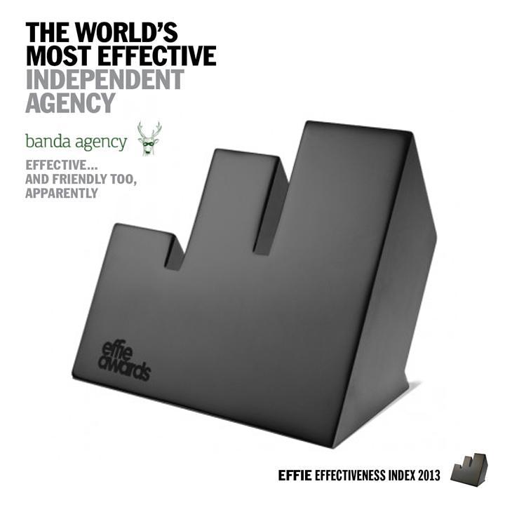 banda effie agency of the year