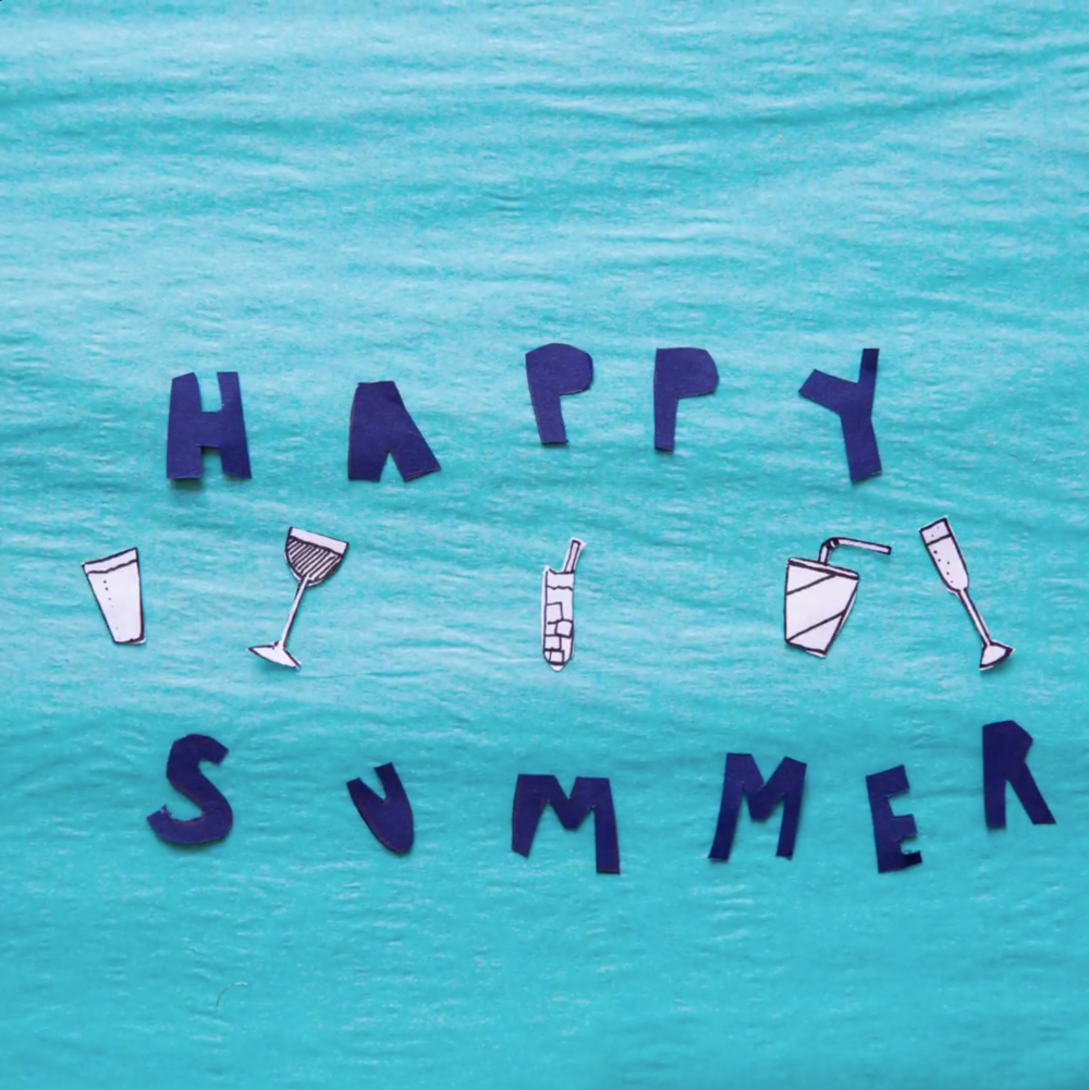 Happy Summer   Animation for AKA NYC Social Media.